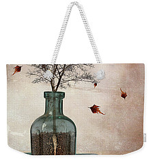 Rooted Weekender Tote Bag by Mihaela Pater