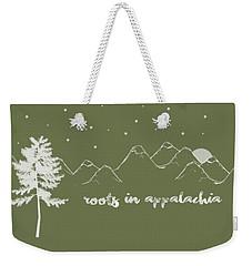 Roots In Appalachia Weekender Tote Bag by Heather Applegate