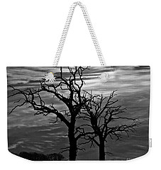 Roots In Black And White Weekender Tote Bag