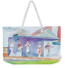 Roots Retreat Bluegrass Weekender Tote Bag