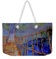 Rope Bridge Weekender Tote Bag