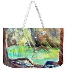 Rope Swing Weekender Tote Bag by Carlin Blahnik