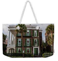 Roper Mansion In December Weekender Tote Bag