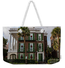 Roper Mansion In December Weekender Tote Bag