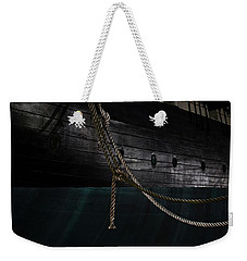 Ropes On The Uss Constellation Navy Ship Weekender Tote Bag