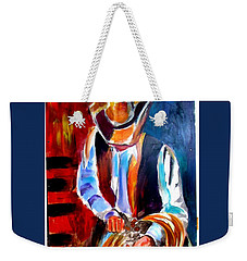Ropin' N' Ridin' Weekender Tote Bag by Ken Pridgeon