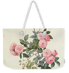 Rosa Multiflora Carnea Weekender Tote Bag by Pierre Joseph Redoute