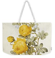 Rosa Sulfurea Weekender Tote Bag by Pierre Redoute