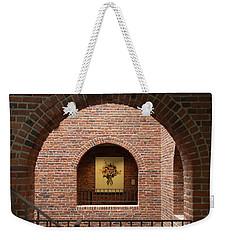 Rosas Y Ladrillos Weekender Tote Bag