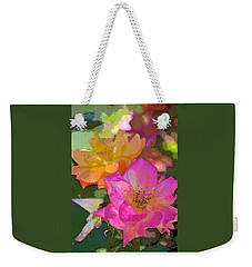 Rose 114 Weekender Tote Bag by Pamela Cooper