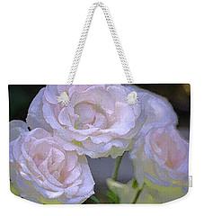 Rose 120 Weekender Tote Bag by Pamela Cooper