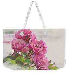 Rose 2 Weekender Tote Bag