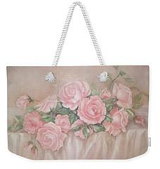 Rose Abundance Painting Weekender Tote Bag