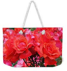 Rose Abundance Weekender Tote Bag
