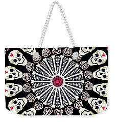 Rose And Bone Mandala Of The Heart Weekender Tote Bag