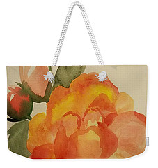 Rose And Rosebuds Weekender Tote Bag