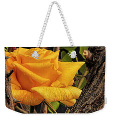 Rose And Thorns Weekender Tote Bag by Charles Ables
