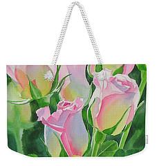 Rose Array Weekender Tote Bag