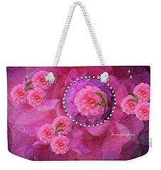 Rose Art A Rose Is Given With Love Weekender Tote Bag