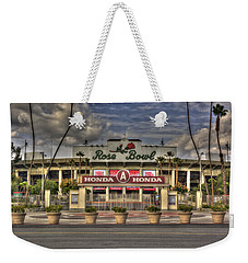 Rose Bowl Hdr Weekender Tote Bag