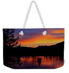 Rose Canyon Morning Weekender Tote Bag