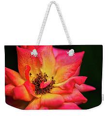 Rose Corolla Weekender Tote Bag