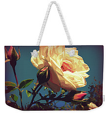 Rose Facing The Sun Weekender Tote Bag