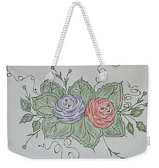 Rose Family Pose Weekender Tote Bag
