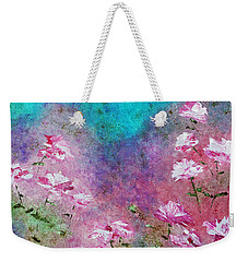 Rose Garden Weekender Tote Bag by Claire Bull