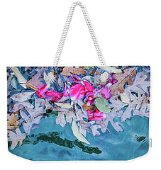 Rose Garden Fountain II Weekender Tote Bag