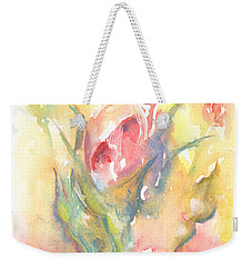 Rose Garden One Weekender Tote Bag by Elizabeth Lock