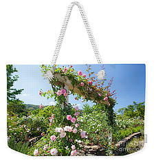 Rose Gate Weekender Tote Bag