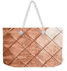 Rose Gold Crush Weekender Tote Bag