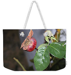 Rose Hip Weekender Tote Bag