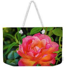 Rose In The Evening Weekender Tote Bag