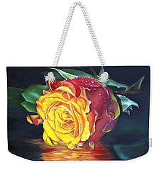 Rose Laura Weekender Tote Bag
