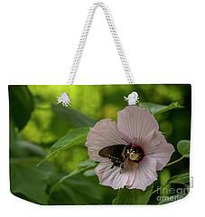 Rose Mallow Weekender Tote Bag