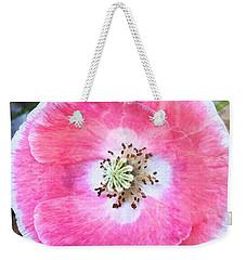 Rose Marble Weekender Tote Bag