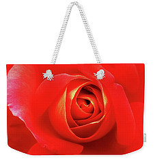 Rose Weekender Tote Bag by Mary Ellen Frazee