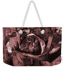 Rose No 2 Weekender Tote Bag by David Bridburg