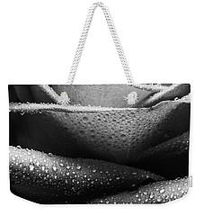 Rose Of Lines And Rain Weekender Tote Bag
