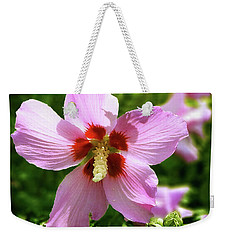 Rose Of Sharon Flowers Weekender Tote Bag