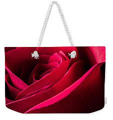 Rose Of Velvet Weekender Tote Bag