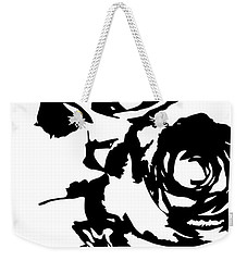 Rose Outline Weekender Tote Bag