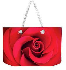 Rose Red 1 Weekender Tote Bag
