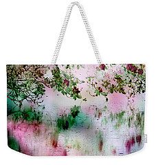 Rose Reflections Weekender Tote Bag