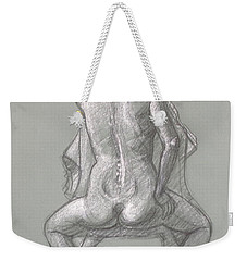Rose Seated From The Back Weekender Tote Bag