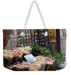 Rose Stand Weekender Tote Bag by Catherine Alfidi