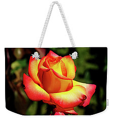Rose To Remember Weekender Tote Bag by Dale Stillman