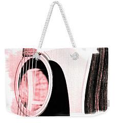 Rose Tones Weekender Tote Bag by Linda Bianic